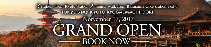 Kyoto Ryogaemaechi-Dori *Nov 27th 2017 Open*