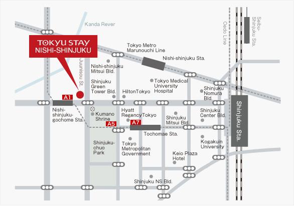 Tokyu Stay Hotel Shinjuku