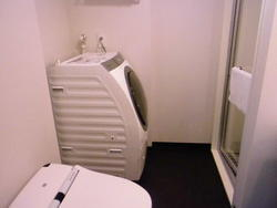 シャワーブース洗濯機